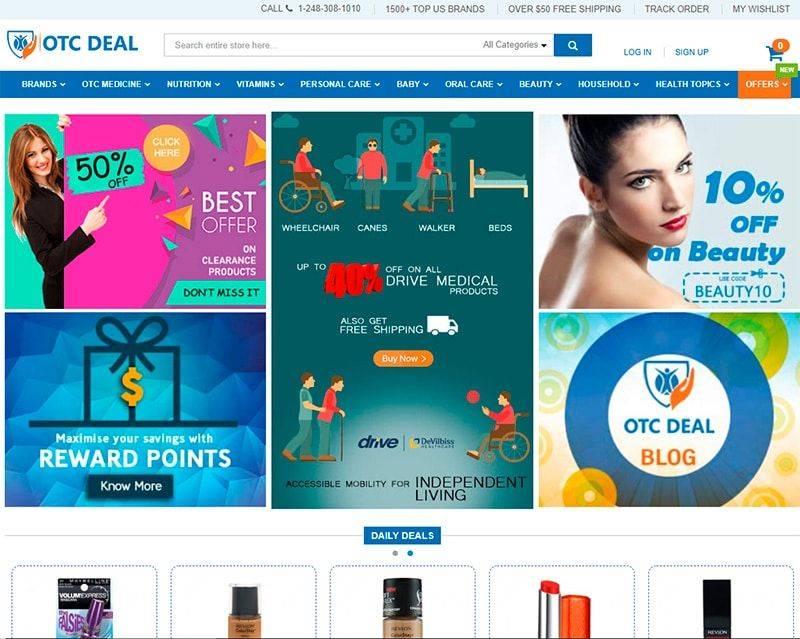 Otcdeal.com Tienda Online Falsa Farmacia Medicamentos