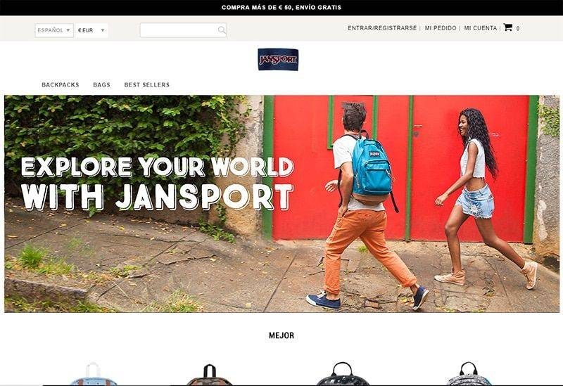 Backpacksmake.gq Tienda Falsa Online Jansport
