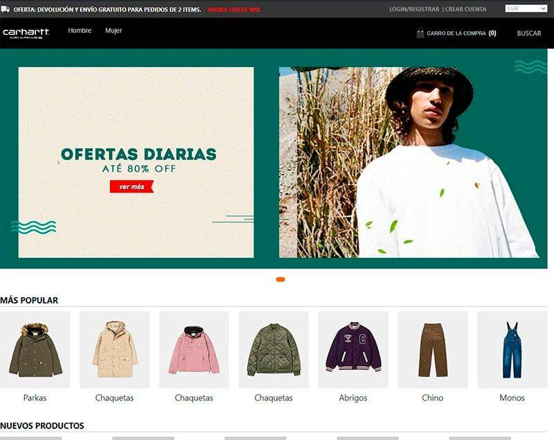 Carharttwipes.online Tienda Online Falsa Carthartt