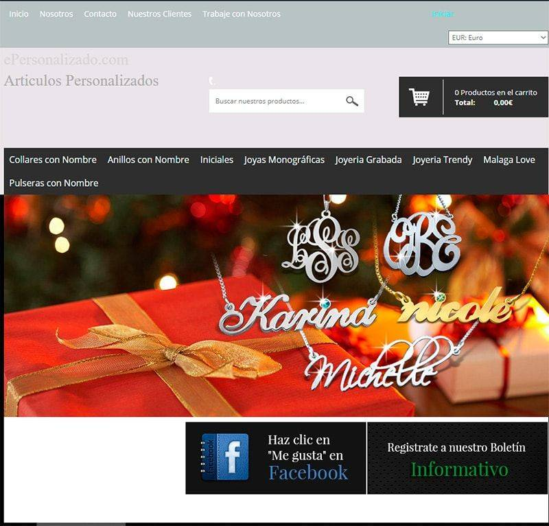 Epersonalizado.com Tienda Falsa Online Regalos Personalizados