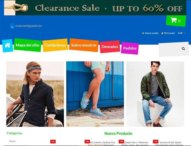 Moda.newtogoods.com Tienda Falsa Online Moda