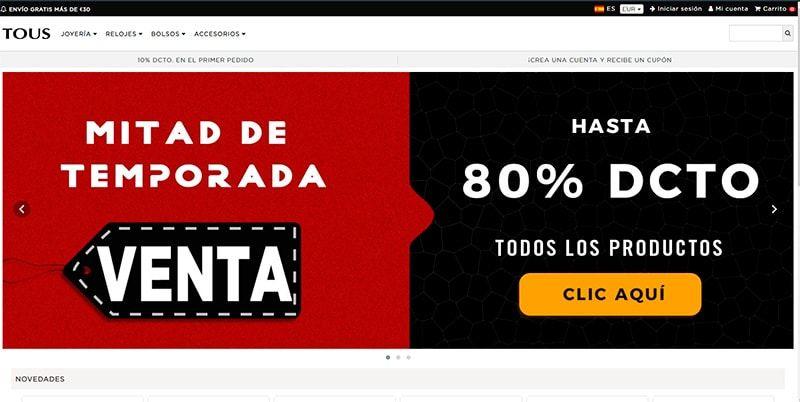 Touses.online Tienda Falsa Online Tous