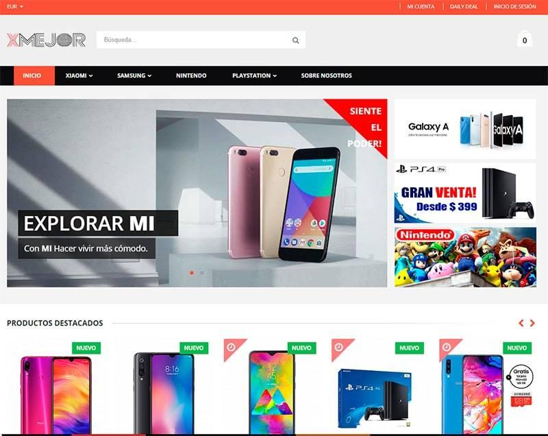 Xmejor.com Tienda Falsa Online Electronica