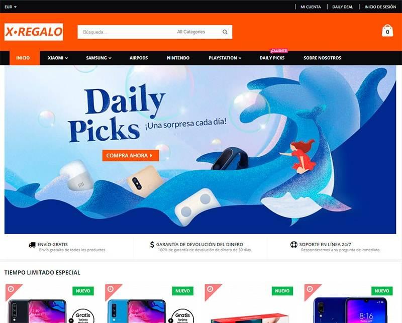 Xregalo.es Tienda Online Falsa Electronica