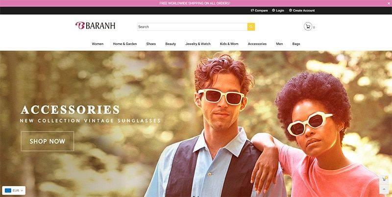 Baranh.com Tienda Online Falsa Multiproducto