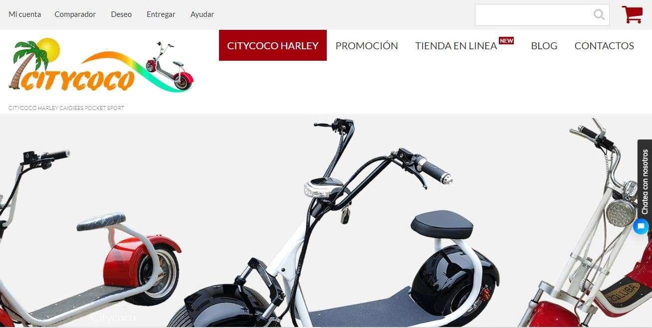 Citycoco.es Tienda Falsa Online Scooters