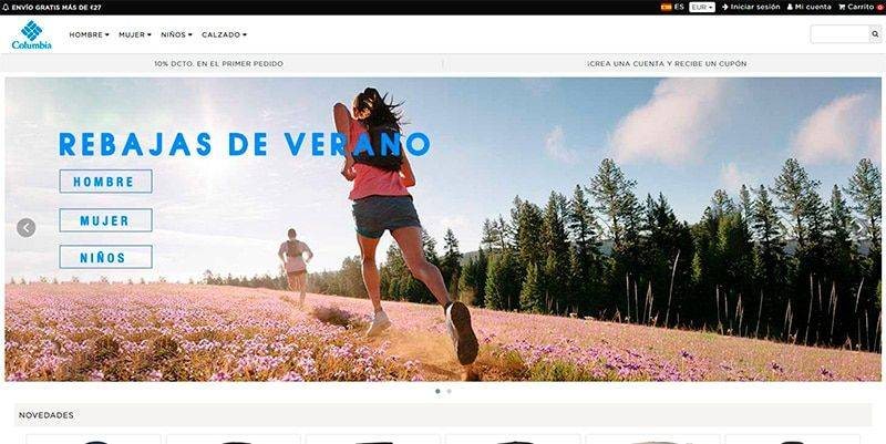 Columbiaes.online Tienda Falsa Online Columbia