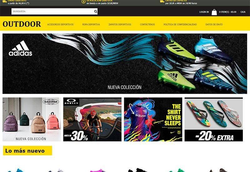 Cossioweb.es Tienda Online Falsa Deportes