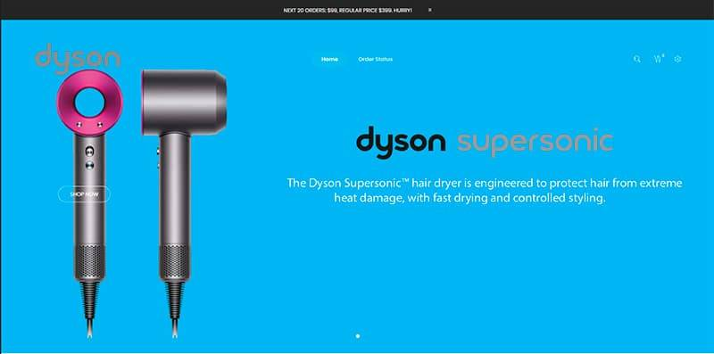 Dysn.org Tienda Falsa Online Dyson