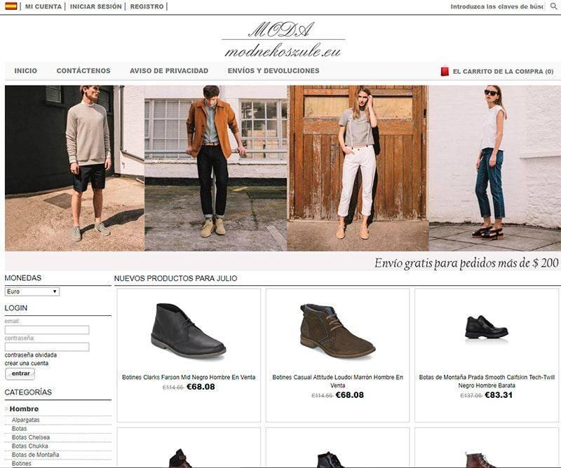 Fashionshop2017.es Tienda Online Falsa Zapatos