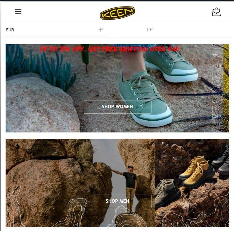 Keeneshop.com Tienda Falsa Online Keen