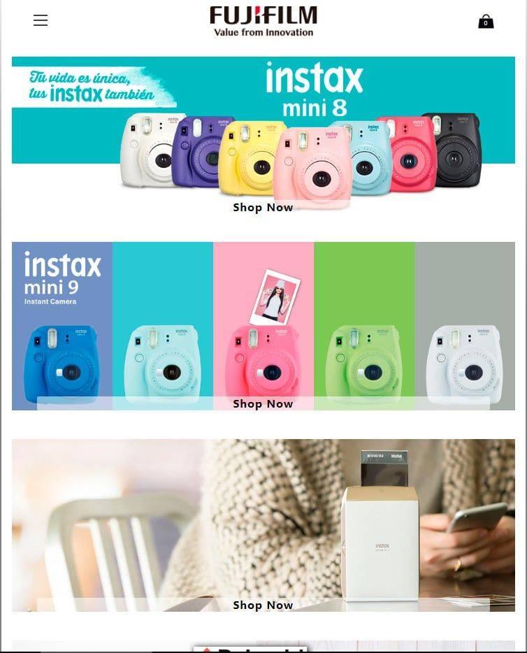 Minicamerass.club Tienda Falsa Online Fujifilm