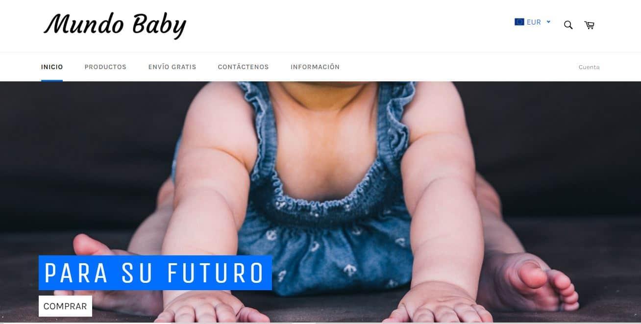 mundo-baby..com Tienda Falsa Online Bebes