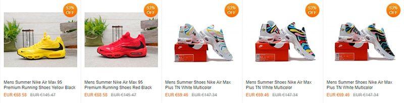 Nikedropshipping.com Fake Online Shop Nike