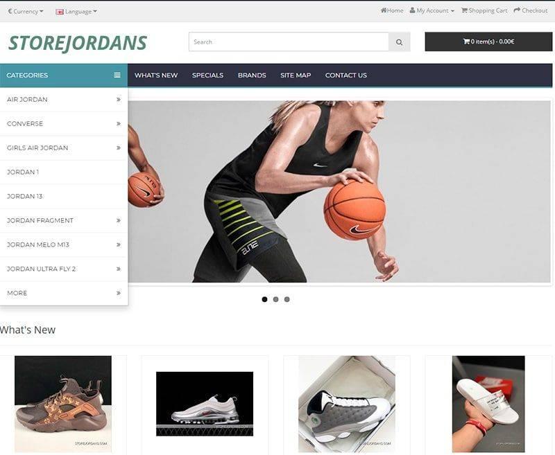 Storejordans.com Tienda Falsa Online Nike