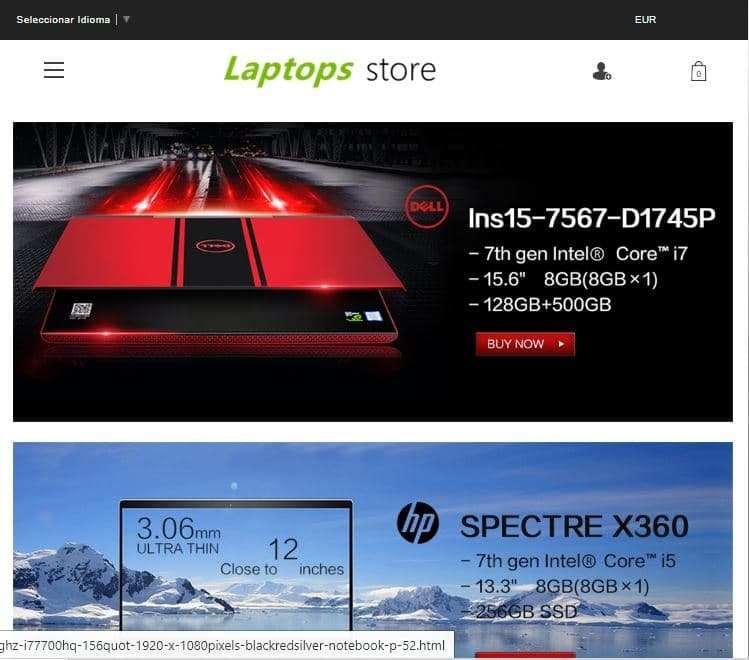 Toplaptopshop.club Tienda Falsa Online Portatiles