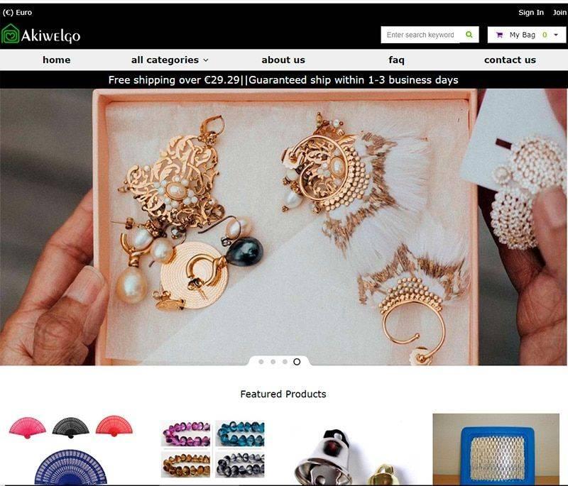 Akiwelgoods.com Tienda Online Falsa Multiproductos