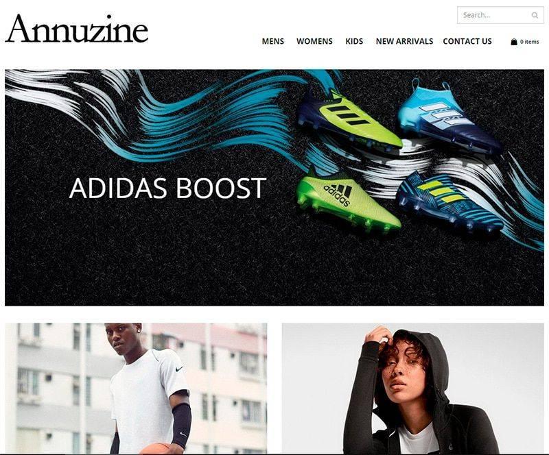 Annuzine.com Tienda Falsa Online Sneakers