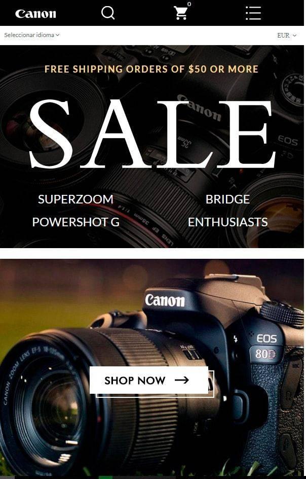 Aqlaql.com Tienda Falsa Online Canon