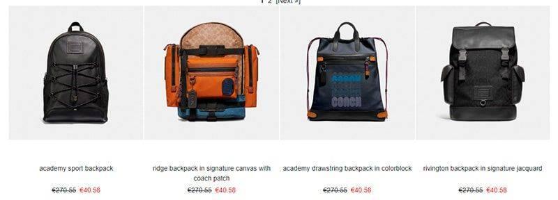 Bagcch.com Tienda Falsa Online