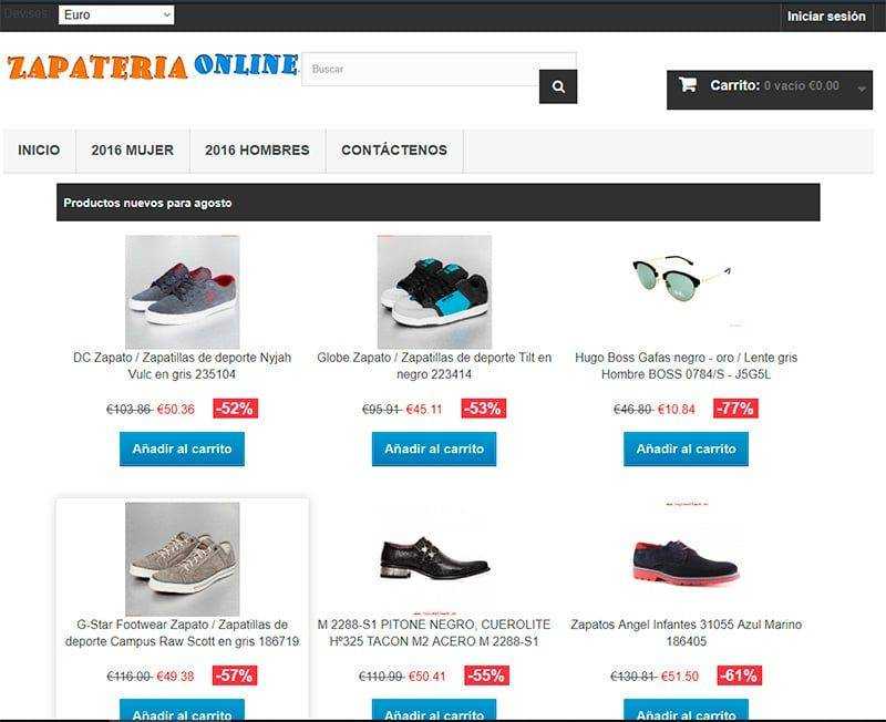 Basauri Fit.es Tienda Falsa Online Calzado