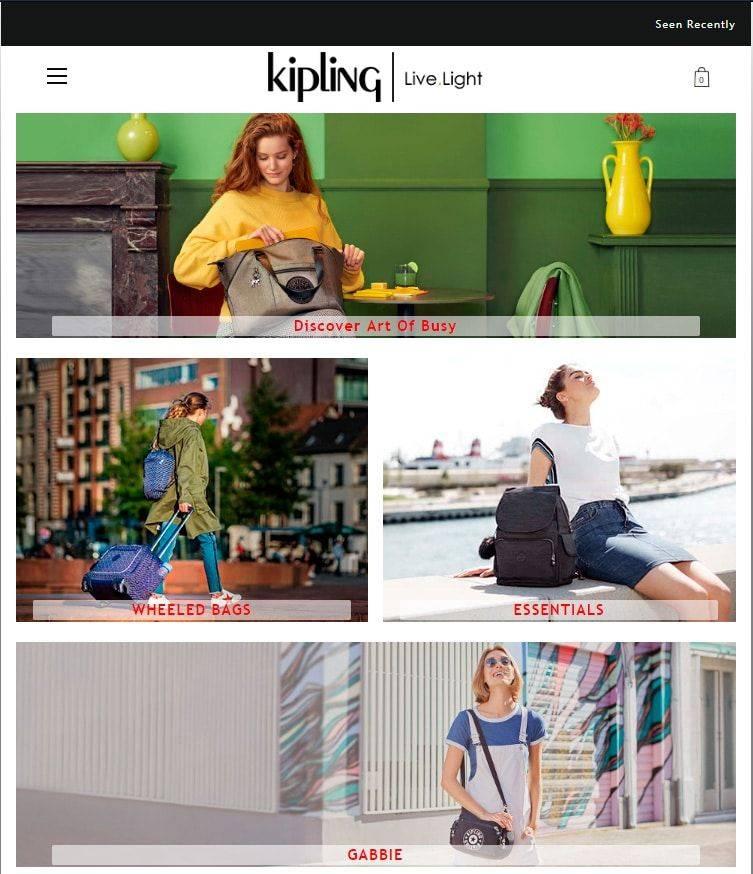 Bestkipling.club Tienda Falsa Online Kipling