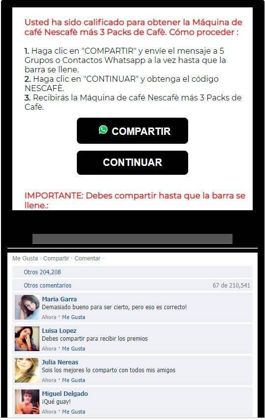 Estafa Nescafe 05