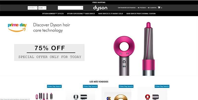 Haircarehot.ga Tienda Falsa Online Secadores Dyson
