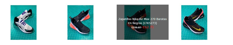 zapatillas nike 270 baratas