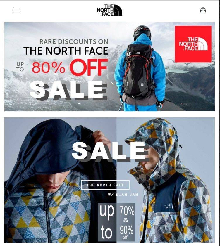 Notcv.com Tienda Falsa Online North Face