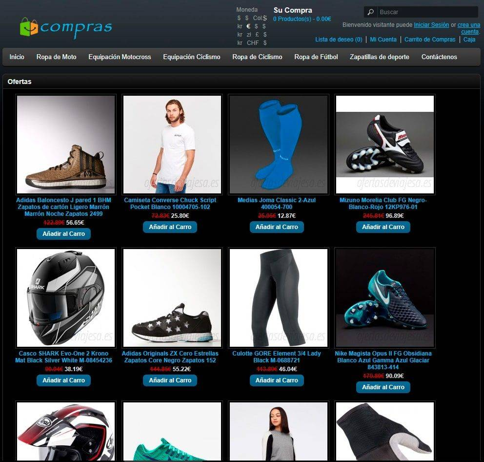Ofertasdeviajesa.es Tienda Falsa Online Motos