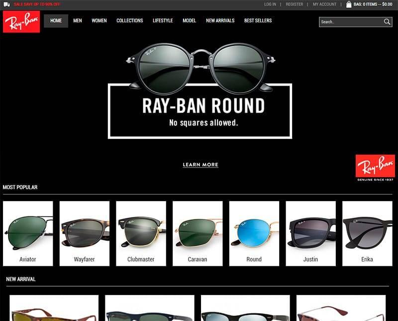 Rbbrn.com Tienda Online Falsa Rayban