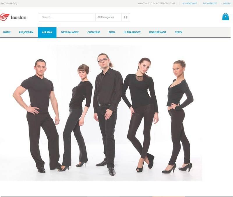 Tesslon.com Tienda Falsa Online Zapatillas