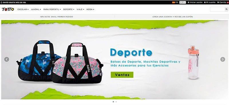Tottoues.com Tienda Online Falsa Totto