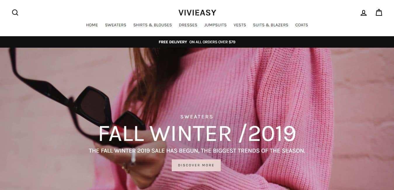 Vivieasy.com Tienda Falsa Online Moda
