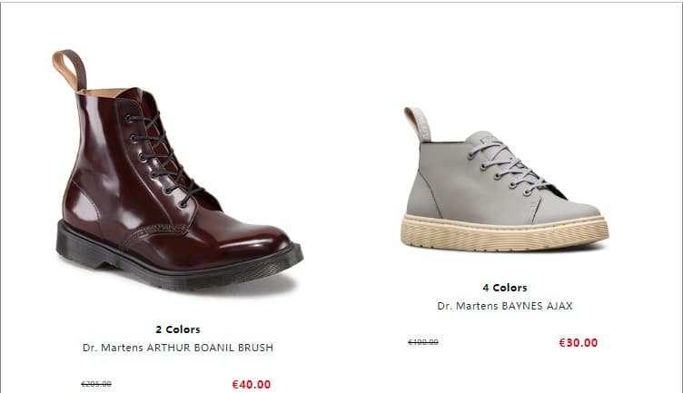 Drmshoes.club Tienda Online Falsa