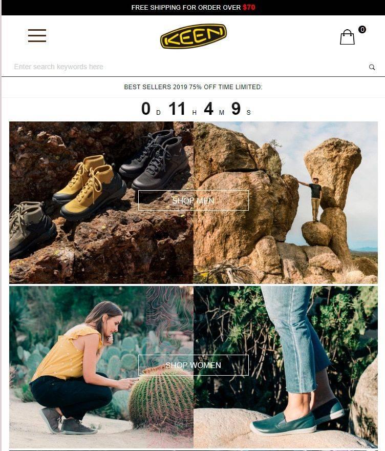 Keenshop.top Tienda Online Falsa Keen