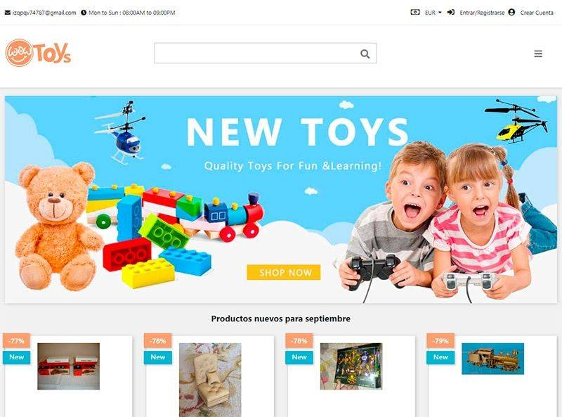 Lumeapiticilor.com Tienda Online Falsa Juguetes
