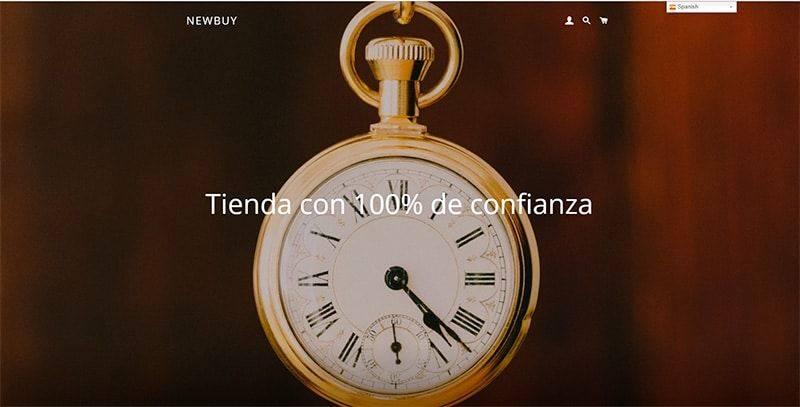 newbuy.store tienda online falsa