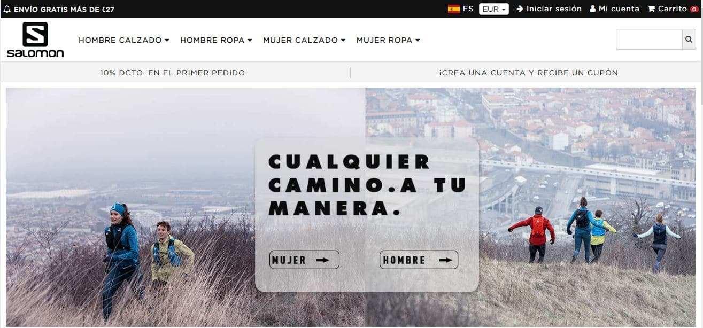 Salomonson.online Tienda Falsa Online Salomon