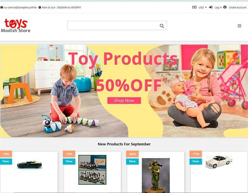 Veraandharper.com Tienda Online Falsa Juguetes