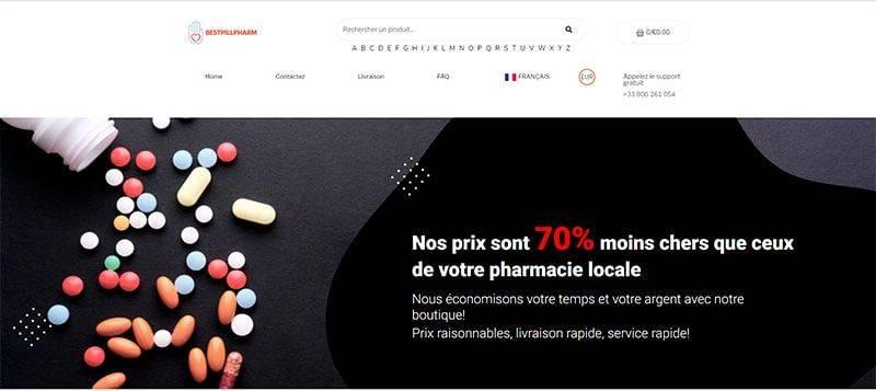Bestpillpharm.com Tienda Online Falsa Medicamentos