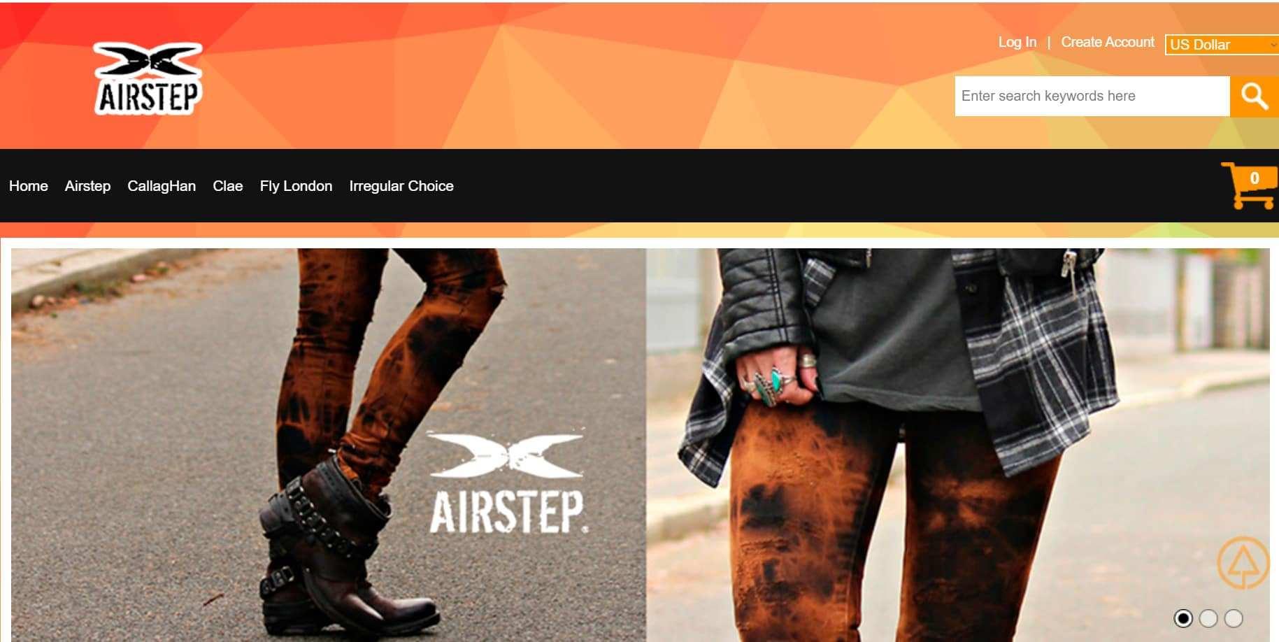 Consettsafcsa.com Tienda Falsa Online Airstep