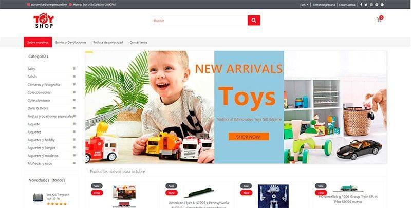 Nebitek.com Tienda Online Falsa Juguetes