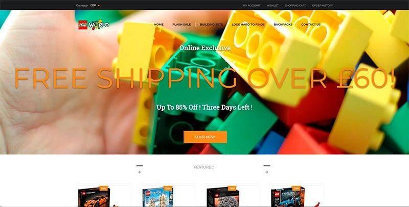 rafontens.com tienda online falsa Lego