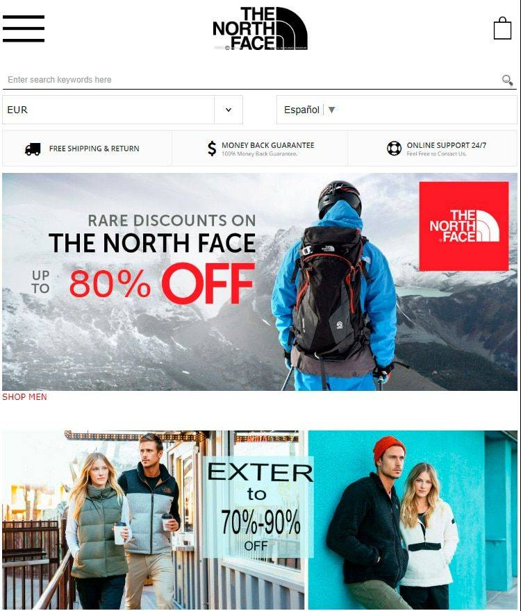 Beilm.co Tienda Online Falsa North Face