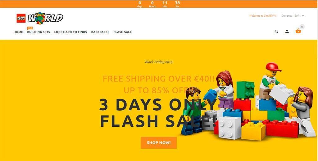 By.ontrys.com Tienda Online Falsa Lego