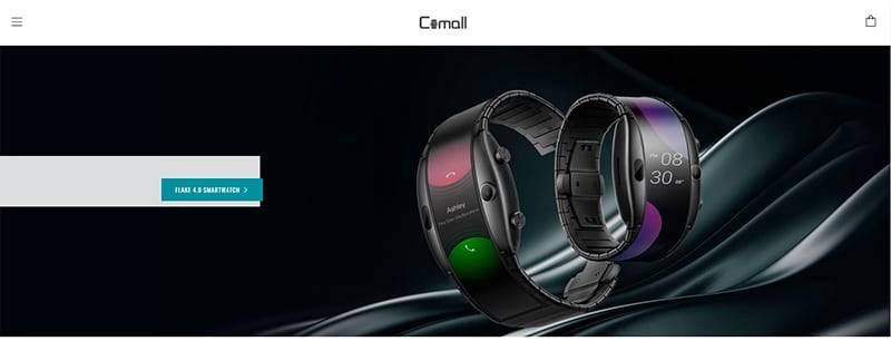 Comalll.store Tienda Falsa Online Smartwatch Flexible