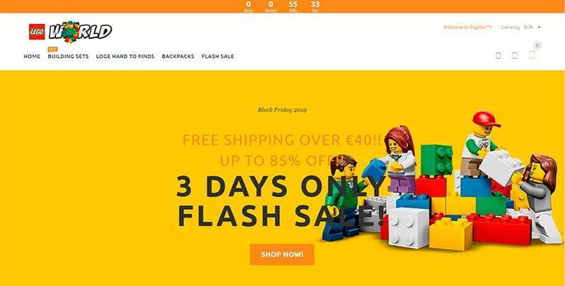Ddmana.com Tienda Online Falsa Lego