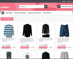 Iconify.es Tienda Falsa Online Moda Hombre Mujer